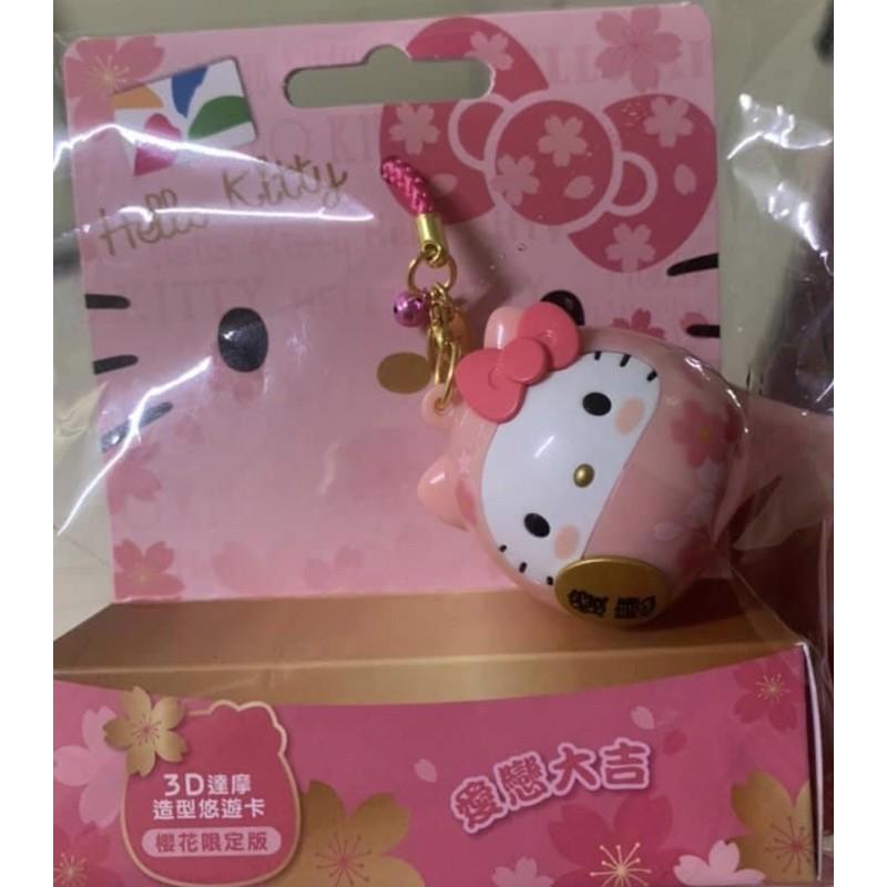 現貨!Kitty3D達摩造型悠遊卡、蠟筆小新恐龍餅乾悠遊卡
