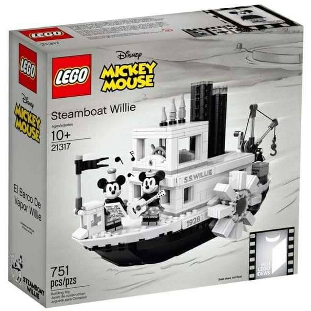 【現貨】盒組 LEGO 21317 Steamboat Willie