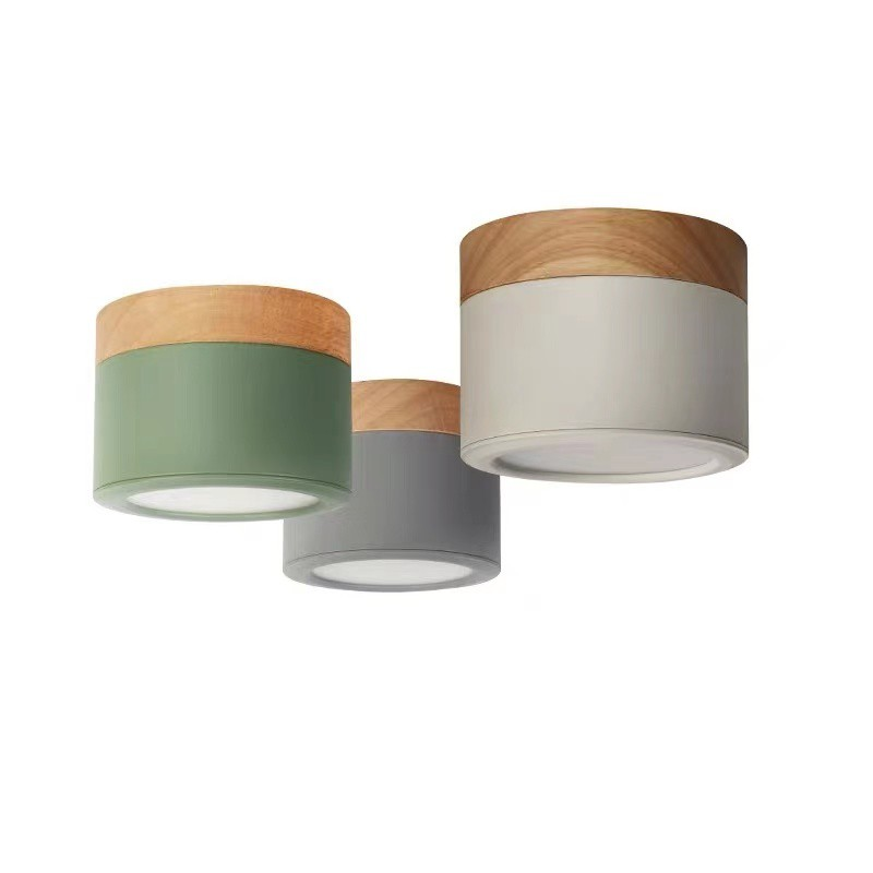【 PSSRISE 派瑟士】LED馬卡龍走廊臥室玄關燈三色變光三色可選110v全電壓贈送免打孔安装包