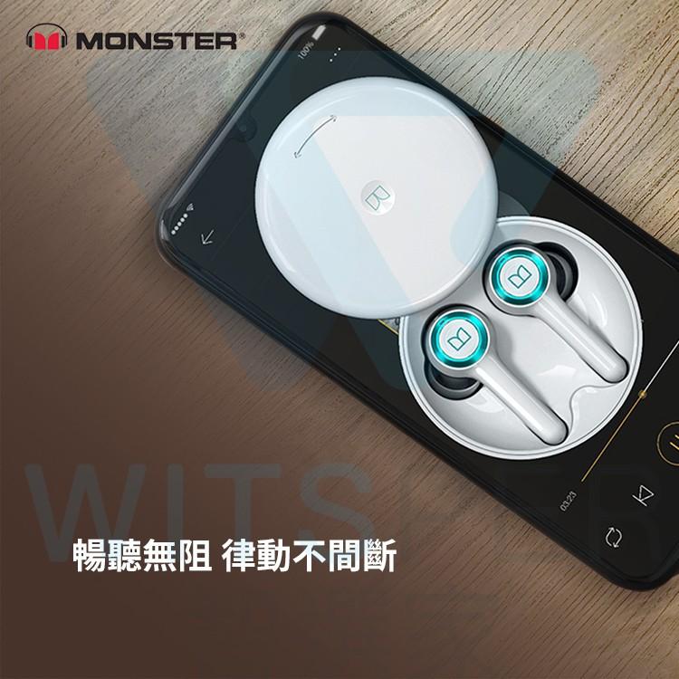 Monster Clarity 102 Airlinks 真無線藍牙耳機 釋放靈魂 聲歷其境 WitsPer智選家