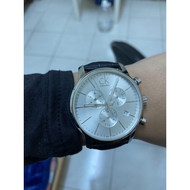 ck三眼手錶 大錶徑 不銹鋼