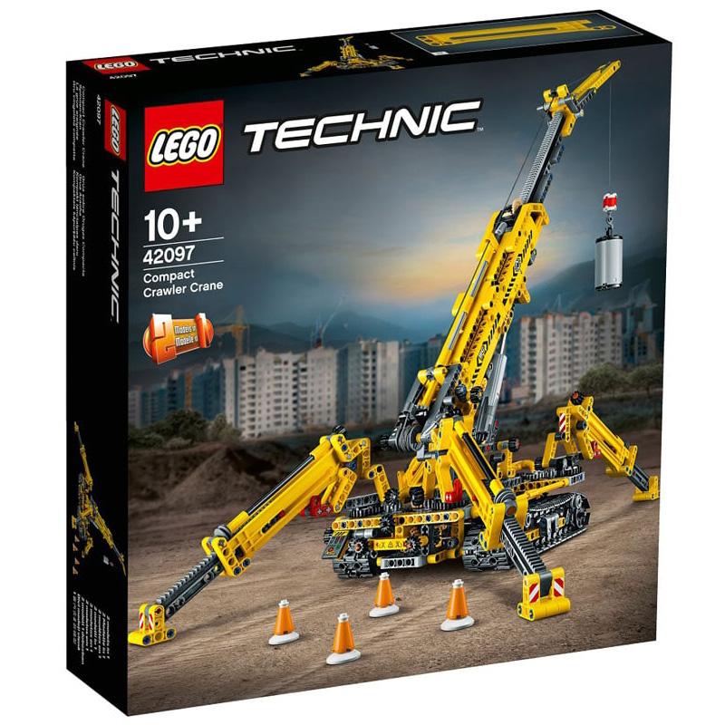 【滿天星辰】LEGO 42097樂高積木玩具科技機械組蜘蛛履帶起重機