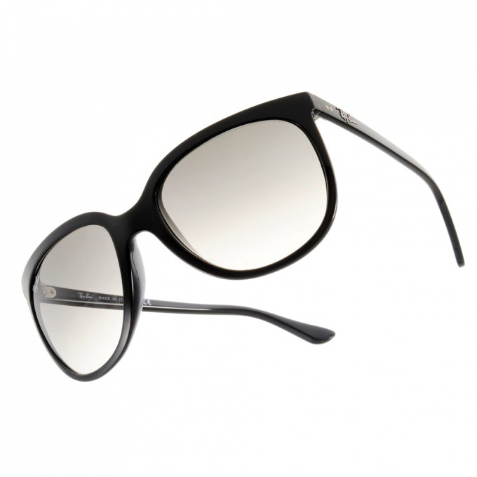 RayBan雷朋 太陽眼鏡 RB4126 60132 魅力貓眼款 -金橘眼鏡