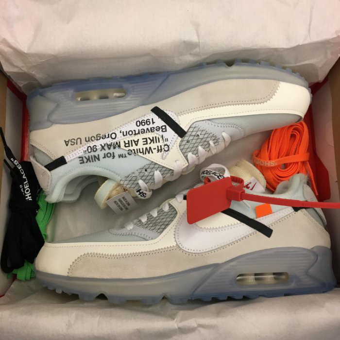 brand new c31f7 de5ca 現貨BEETLE OFF WHITE X NIKE THE TEN AIR MAX 90 AA7293-100 10.5   蝦皮購物