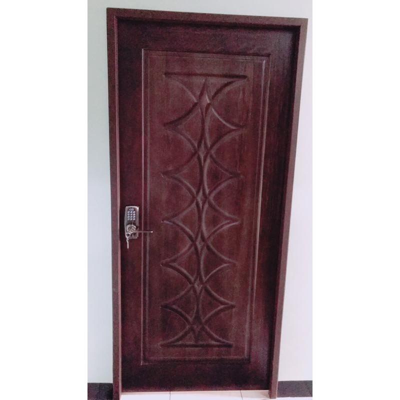 實木門 實木雕花門 房間門 安裝 木纖門 貼皮門 房間門 國際門 台中 安裝 維修
