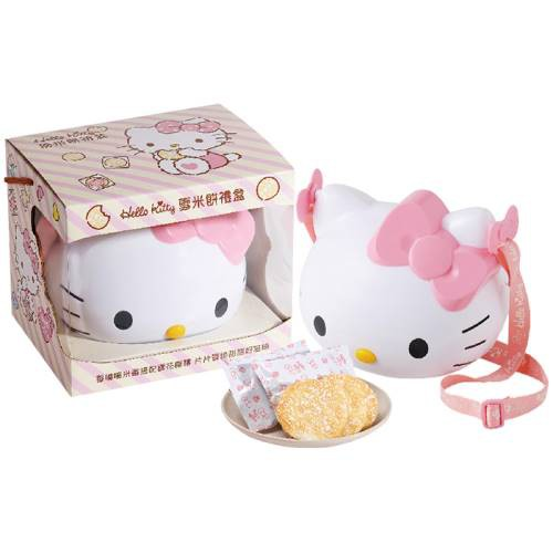 Hello Kitty 雪米餅造型筒禮盒