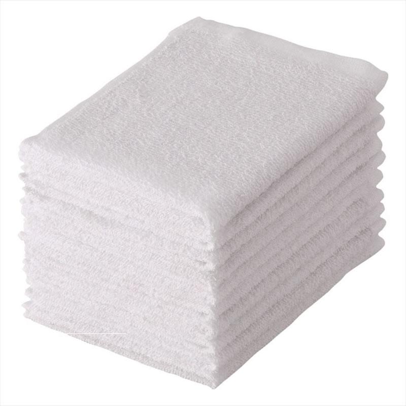 現貨 口水巾 純棉小毛巾一次性方巾輕薄速乾全棉吸水擦手嬰兒童口水巾旅遊飯店