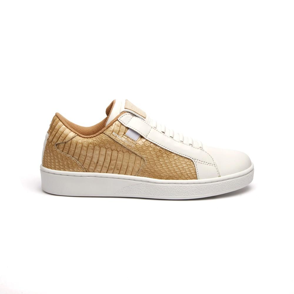 Royal Elastics Adelaide 白金真皮時尚休閒鞋 (女) 92683-220