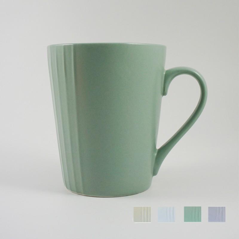原點居家創意 北歐風麥田系列大咖啡杯 水杯茶杯早餐情侶牛奶杯馬克杯400cc