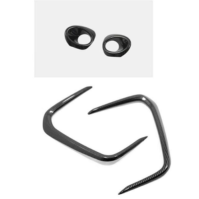 TOYOTA  Corolla Altis 2019款 ALTIS 12代 卡夢鍍鉻前霧燈框 霧燈框飾條 霧燈飾