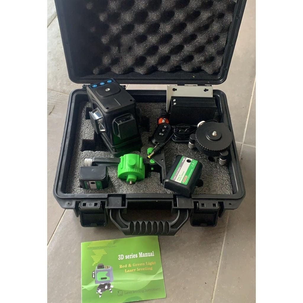 德國3D 12線綠光雷射水平儀 雷射儀 水平儀
