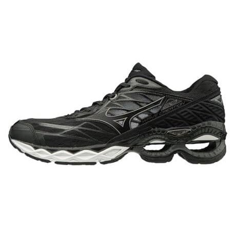 新款📣 MIZUNO 📣 WAVE CREATION 20 男款慢跑鞋-黑色 J1GC190112-免運