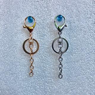 [現貨]大龍蝦鑰匙扣環+鑰匙圈+8字釦+短鏈-金色、銀色 花蓮縣