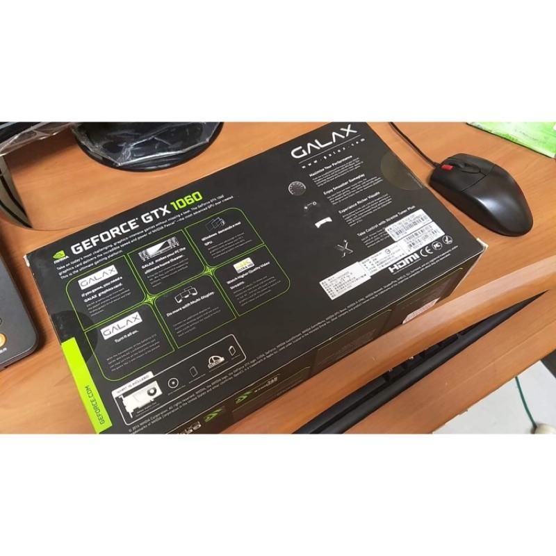 賣全新未開封 無發票GALAX GTX 1060 OC 6 G 顯示卡