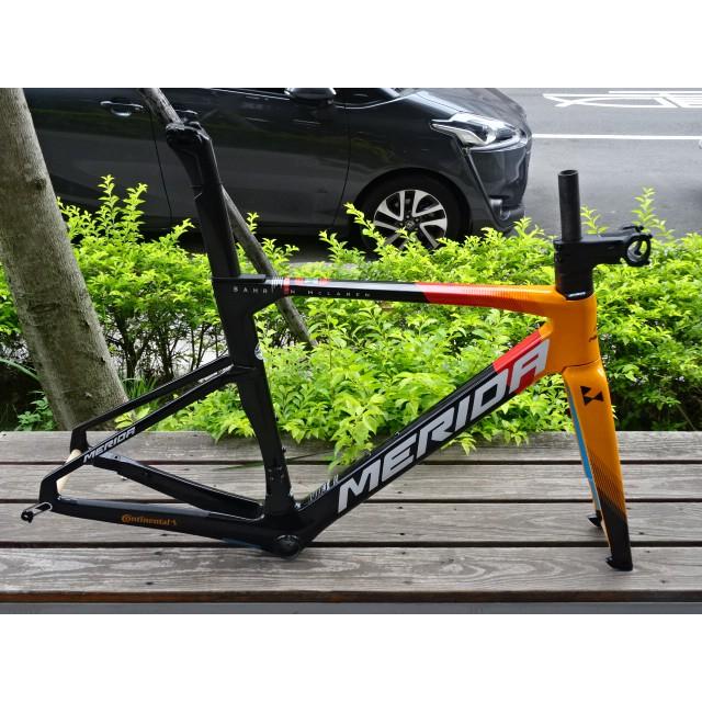 單車森林~McLaren 麥拉侖 美利達 銳克多 REACTO 5000 DISC 車架組 (車隊版)