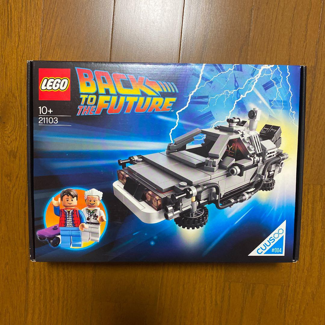 [日本]全新未開封的LEGO LEGO 21103 Back to the Future Delorean