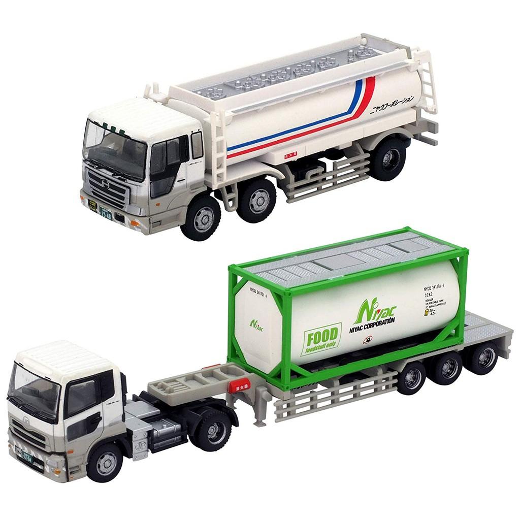 Tomytec 卡車收藏 1/150 日本荷役公司 NIYAK 卡車2入 萬年東海