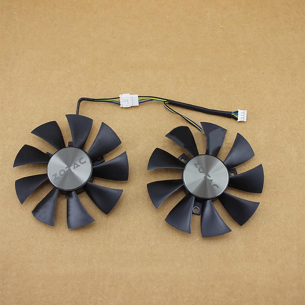 適用於ZOTAC索泰 GTX1070 MINI / GTX1060 AMP 冷卻風扇圖形顯卡冷卻風扇