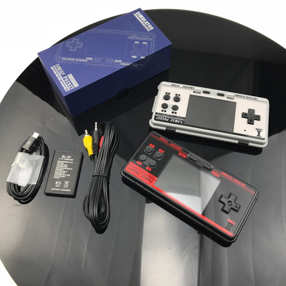 復古手持視頻遊戲機內置 1091 經典遊戲便攜式控制台支持 8 格式遊戲 Av 輸出 Fc3000
