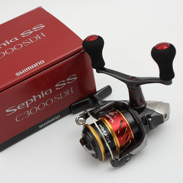 SHIMANO SEPHIA SS C3000SDH/SDHHG淺綫杯雙柄軟絲捲線器