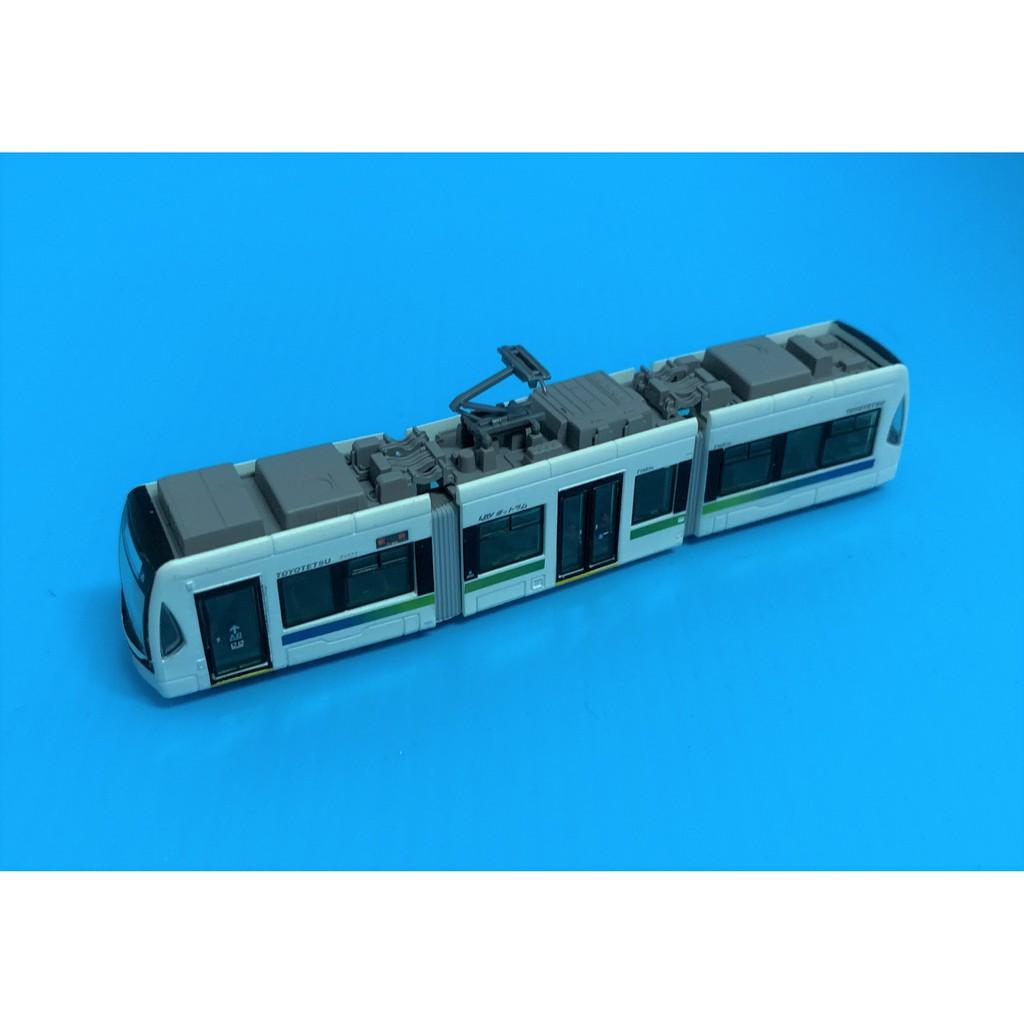 TOMYTEC 路面電車 豐橋鐵道電車 T1000型 中古 N規 現貨