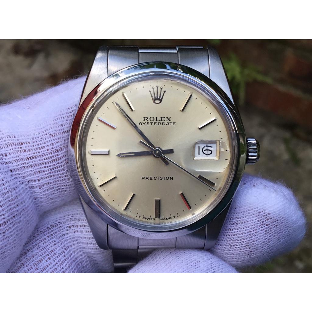 ROLEX 勞力士 6694 手上鍊1225機芯 收藏品 錶徑 34mm 年份序號 342oooo 1971年 古董錶