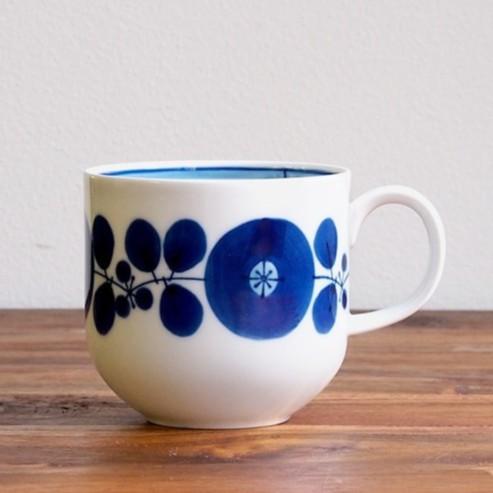 [偶拾小巷] 日本製 波佐見燒 白山陶器 Bloom系列 茶杯 馬克杯 (邊花)