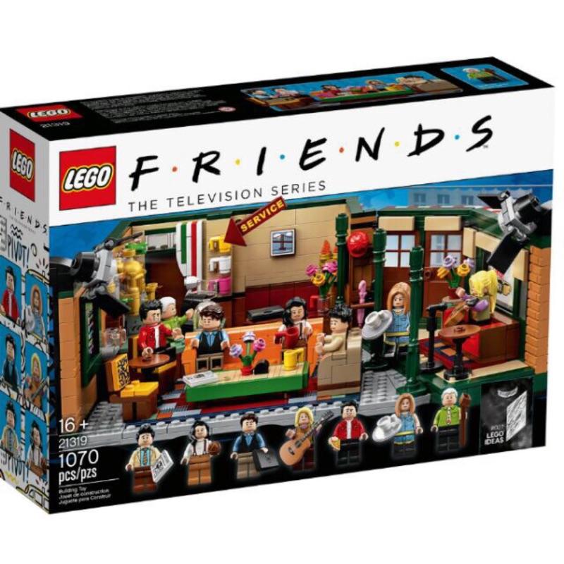 現貨🌺Aloha代購🌺美國原裝六人行 樂高 21319 friends LEGO 中央公園 central perk