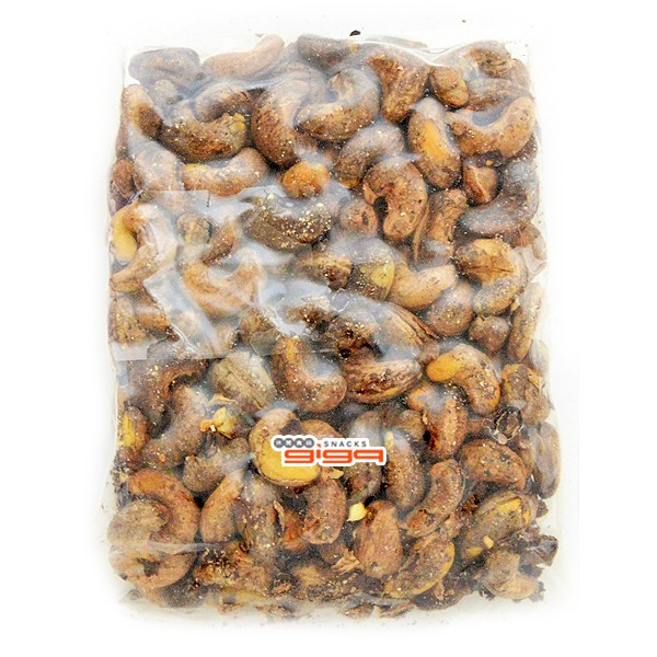 《可旺》鹽酥皮付腰果/鹽炒帶皮腰果(非真空包裝) 1包500公克[產地:越南] [#1]