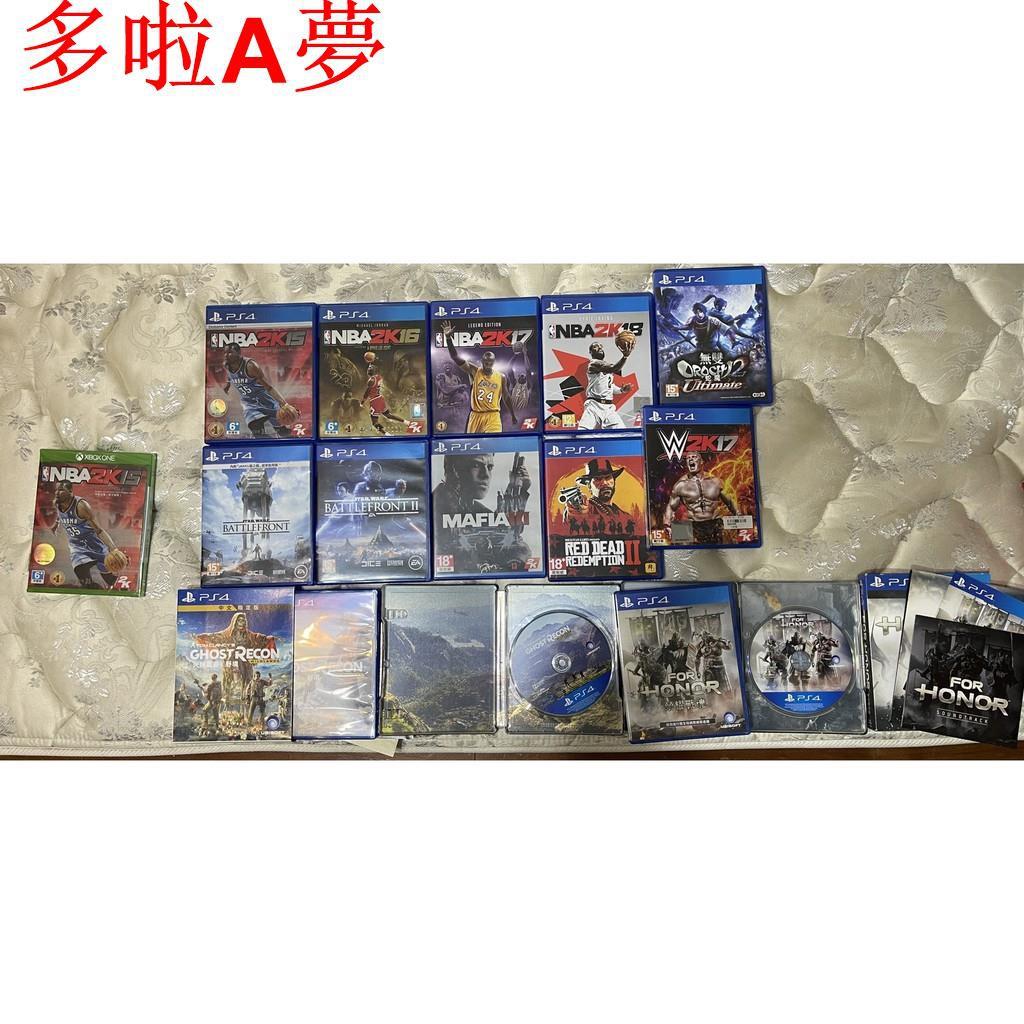 【多拉A夢】PS4 光碟片俠盜獵車手V GTA5 / NBA2K15 /Mafia 四海兄弟