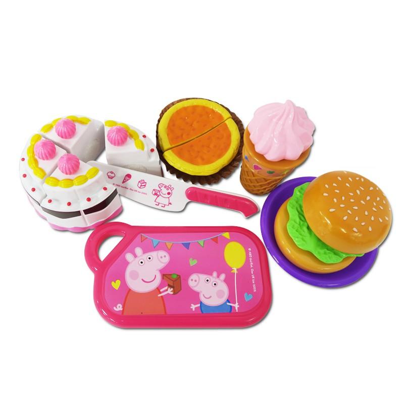好奇佩佩豬切蛋糕遊戲組(好奇滿額送玩具)