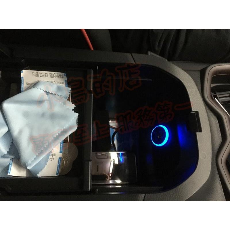 (小鳥的店)豐田 2019-2021 5代 RAV4 雙孔 扶手內 點煙器改 USB 圓型 原廠 藍光 充電 2.1A