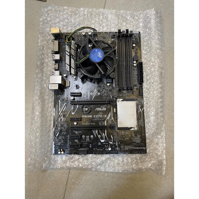ASUS PRIME Z270-P 6卡 7卡 8卡 挖礦主機板 CPU3930