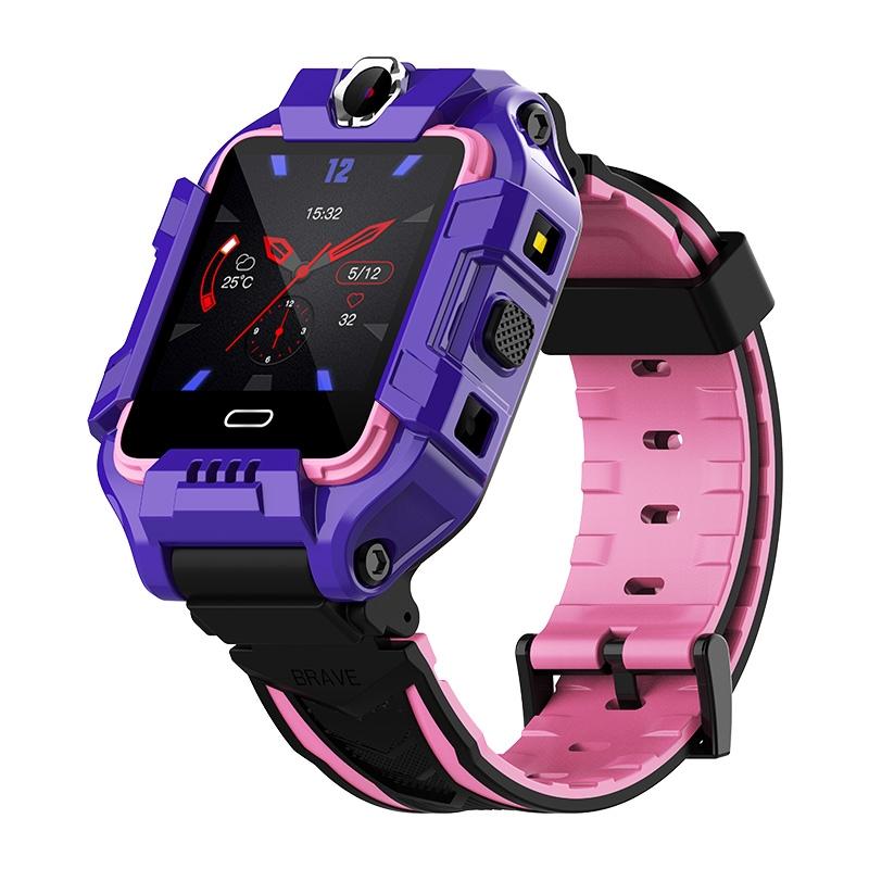 4G全網通小天才黑貓兒童電話手表智能最新版學生防水z6男孩女孩z5
