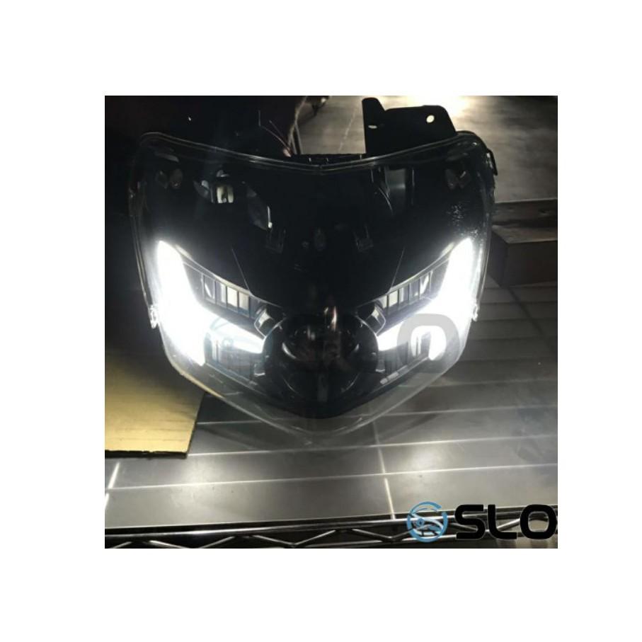 PuMall📍送方向燈繼電器+免運📍SLO 速辰 五代勁戰 勁戰五代 XC-P1魚眼 魚眼大燈 LED魚眼