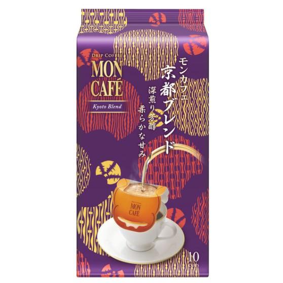 🔥現貨🔥日本 片岡物產 MON CAFE京都調和深煎濾掛式咖啡