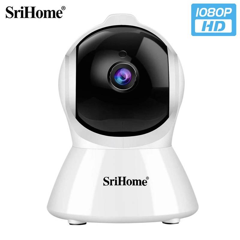 SriHome智能家居200萬高清監控攝像頭 wifi IP Camera 無線攝像機