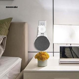 用於Google Home Mini語音助手的Moon智能揚聲器插座壁掛式支架