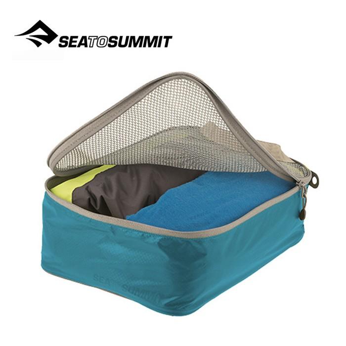 【Sea To Summit 澳洲】旅行打理包 衣物打理包 S號 藍/淺灰 (ATLGMBS)