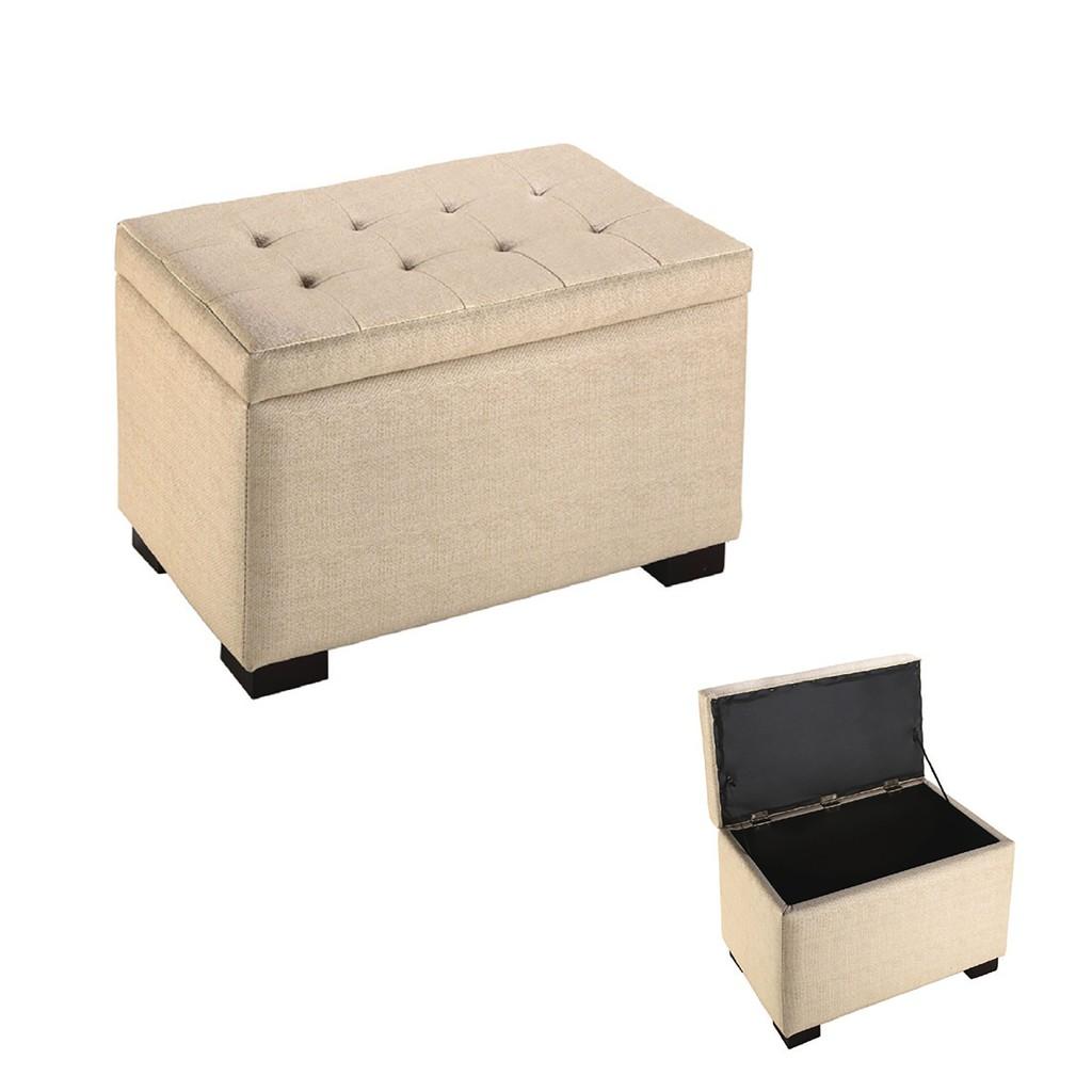 【57cm皮收納椅-K29-05】 單人座 L型沙發 貓抓皮 布沙發 沙發床 沙發椅 【金滿屋】