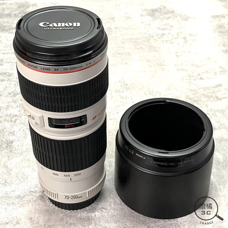 『澄橘』Canon EF 70-200mm F4 黑 二手 單鏡頭(無盒裝)《歡迎折抵 鏡頭租借 鏡頭出租》A49513