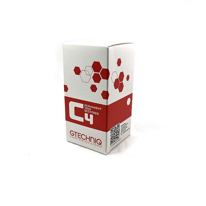 英國 GTechniq C4 Permanent Trim Restorer 15ml (GT C4外部膠條鍍膜) 好蠟