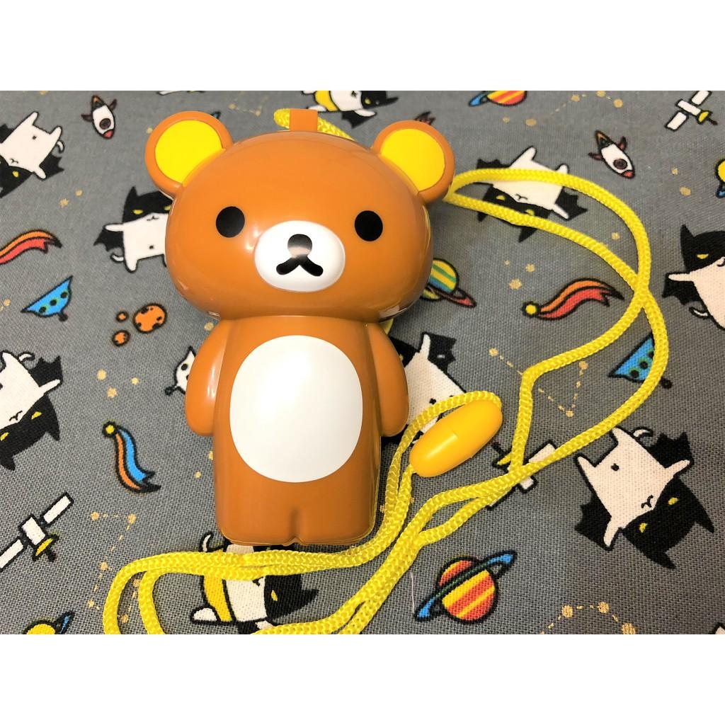 現貨 ❤ 【NANANA小舖】娃娃機商品-可愛拉拉熊隨身涼風扇玩偶造型娃娃 台主 超愛夾 電池