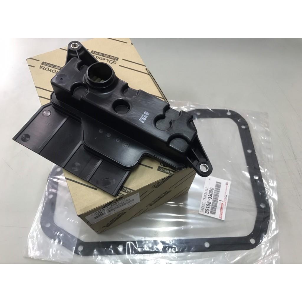 TOYOTA  06PREVIA 3.5  10SIENNA 正廠 日本件 變速箱濾網 變速箱油網 + 變速箱油底殼墊片