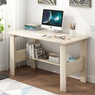 (新品)現貨/ 可發貨到付款80cm/ 1/ 1.2米辦公桌仿實木初中生高中生書桌家用課桌寫字桌MS370/ 迪奧妮家具