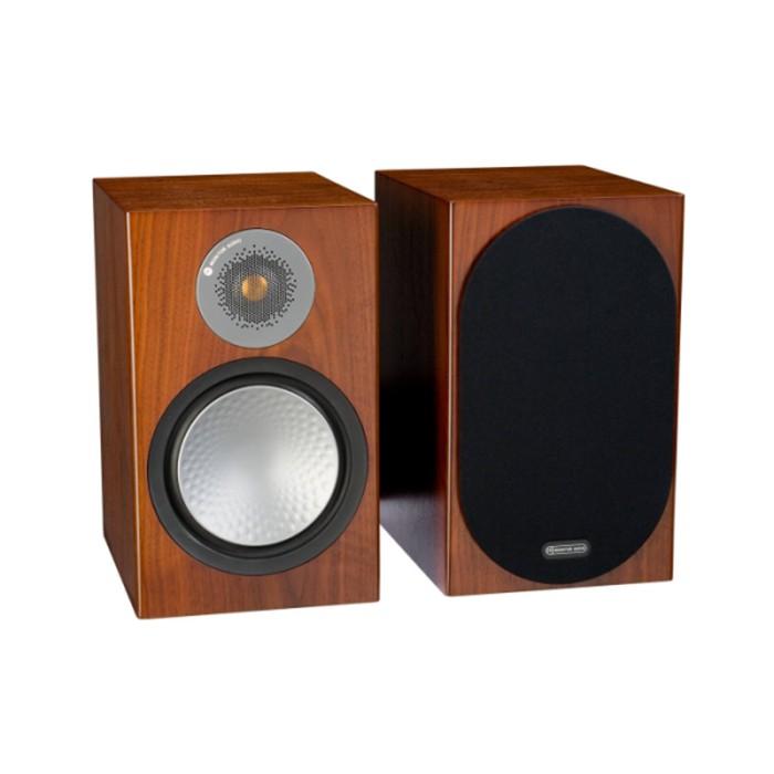 英國 Monitor Audio 銀Silver 100 書架型喇叭 木紋版 公司貨享保固《名展影音》