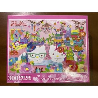 (二手)日本進口BEVERLY正版Hello Kitty拼圖300pcs 桃園市