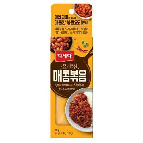 [韓國直送]CJ 料理的神 辣炒醬料 90g