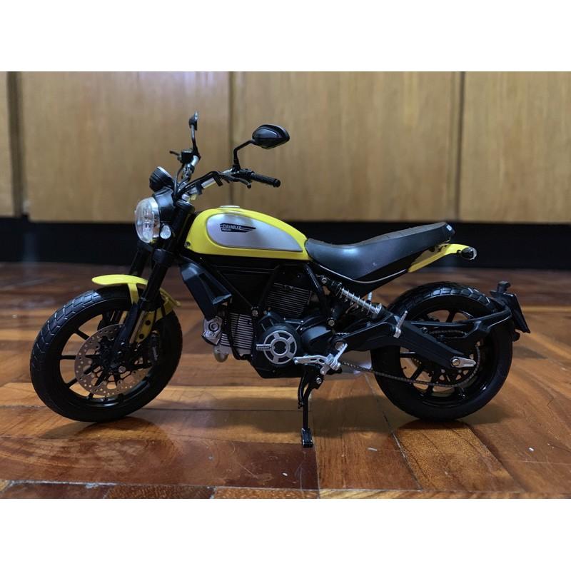 TSM Ducati 1/12 Scrambler 鋅合金模型