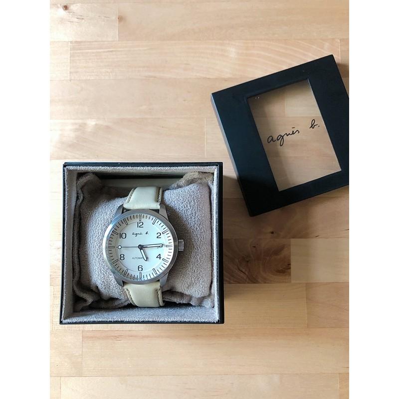 agnes b. 日本製 / 原廠絕版機械手錶 / 附全新錶帶⌚️